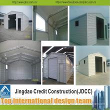 Garaje de acero ligero estándar ISO