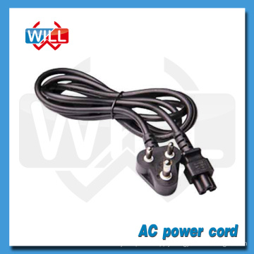 SABS ROHS 3pin 250V south africa power cord for computor laptop