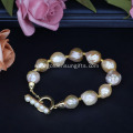 Online Get New Style Baroque Pearl Bracelet Jewelry