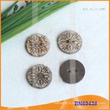 Botões de coco natural para vestuário BN8043