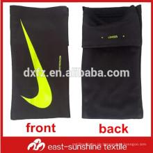 Benutzerdefinierte Logo gedruckt microfiber Sport Handy Reinigung Arm Tasche