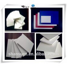 Tablero imprimible de la espuma del PVC blanco para la muestra, tablero de la espuma del celuka del tablero de la espuma del forex del pvc / pvc para la señalización