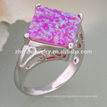 flower modelling design jewelry opal ring