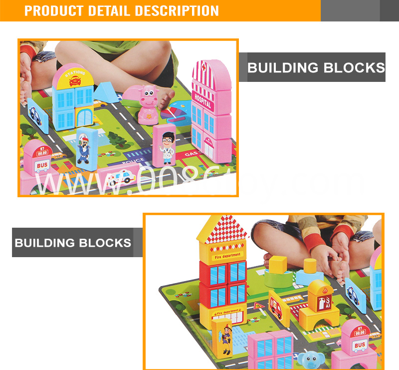 high quality puzzle blocks games set