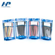 Sacs d'emballage de serrure de fermeture éclair de petite taille pour le connecteur de bout droit de rétrécissement