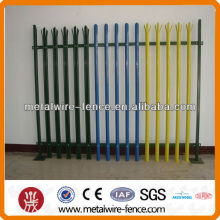 Galvanizado Palisade Fence / Segurança Fence / Powder Coating Fence
