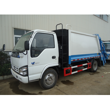 Small ISUZU compression refuse truck