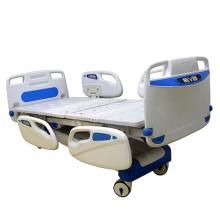 Médico cinco funciones eléctricas ajustables camas de hospital