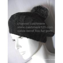 Sombrero de cachemira sombrero de piel POM Ty0910