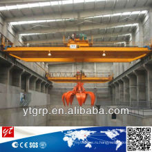 Грабинг мостового крана, подвесной Грейферного крана 20 тонн