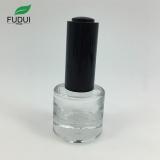 round shape empty gel glass bottles 10ml custom nail polish bottles
