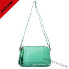 Mint Green Soft Sheep Leather Crossbody Bag / Teenagers Leather Clutch Bag