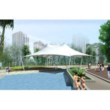 Structure membranaire Couverture de toiture de piscine