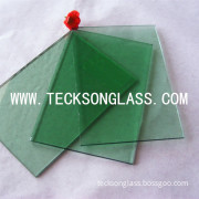 4-6mm Dark Green Float Building Glass