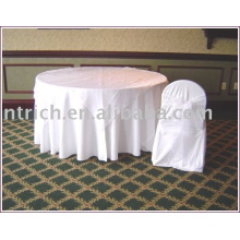 Nappe, couverture de table d'hôtel / banquet, couvertures de table de polyester