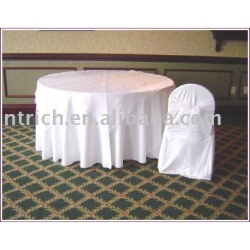 Nappe, couverture de table d'hôtel / banquet, couvertures de table de polyester