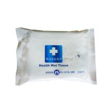 Toalhetes húmidos antibacterianos pessoais descartáveis médicos