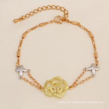 Xuping Fashion Multicolor 18k Gold Bracelet