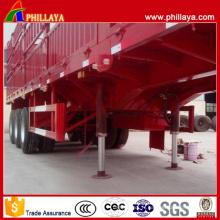 Normalement 24-36 tonnes chargent le type d'atterrisseur de remorque de type hydraulique