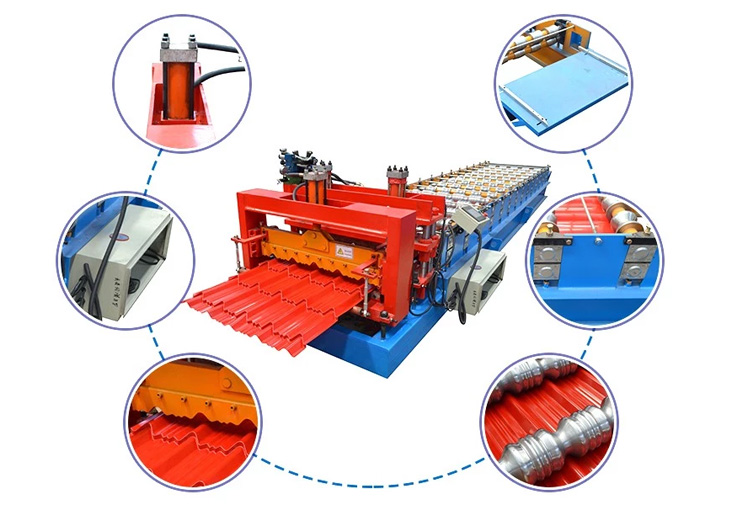 Glazed Roof Forming Machine