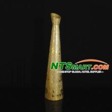 Golden Electroplating Artware Ceramic Vase (HP7022-5)