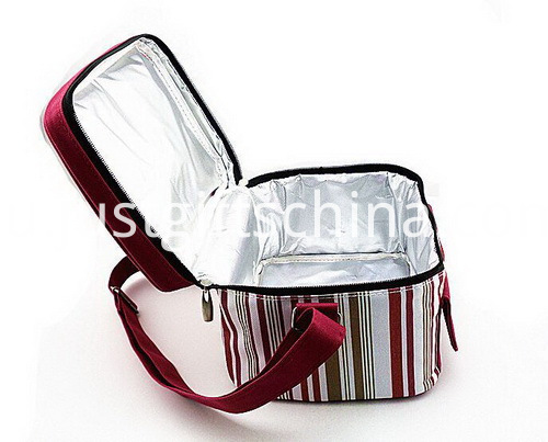 Personalized Quality 600D Polyester Striped Cooler Bags (4)
