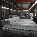 Zaunpfosten Autobahnleitplanke aus verzinktem Stahl