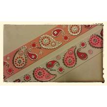 Vendimia impresa del lazo de la cinta por cinta grosgrain / arcos de la cinta / cinta de artesanías