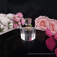 al por mayor botella de perfume de cristal recargable vacía