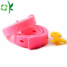 Anti-mug Silicone Dog Pet Collar Cat veilige ketting