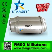 Gaz réfrigérant n-butane R600 99,9% pureté