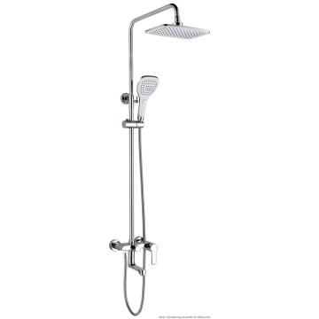 Chrome Plated Single Lever Bathroom Shower Faucet