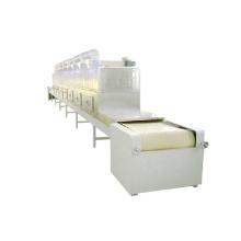 Commercial tunnel belt microwave drying machine for hemp flower hemp pellets hempseed cake