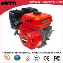 168f Motor de gasolina de un solo cilindro 5.5HP refrigerado por aire