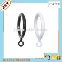 Plastikvorhangringe, 4 Plastikringe, Vorhangösenring