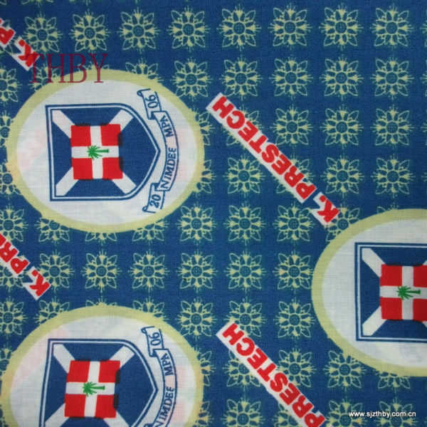 Olika design Ghana Print School Uniform Fabric