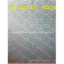 Double Scallop barato francês Guipure nupcial Cord Lace Fabric Atacado