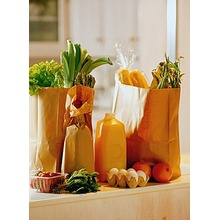 Food standard recyclable paper bag