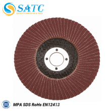 abrasive flap disc for wood polishing