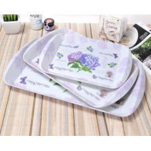(BC-TM1027) Hot-Sell High quality Reutilisable Melamine Serving Tray