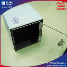 Luxury Transparent Acrylic Plexiglass Donation Box Charity