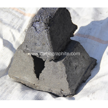 Self-baking electrode paste used in ferro alloy smelting