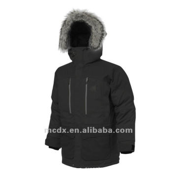 leisure style warm quilted outdoor windbreaker jacket for man
