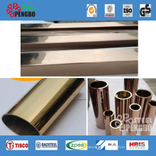 304 Coloured Stainless Steel Pipe for Handrail