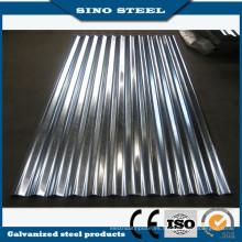 Láminas de acero corrugado galvanizado para techos y construcción