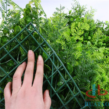 Novo Design Artificial Hedge Falso Parede Verde
