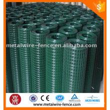 ПВХ покрытием сварные сетки / белый ПВХ покрытием сварные сетки забор / 2x2 ПВХ покрытием сварные сетки