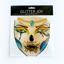 2021 Hot sell Face Forehead Paster Bohemia Style Glitter Body Jewel Crystal Tattoo Stickers