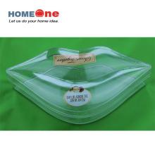Pequeña boca Boca grande Forma Caja de caramelos de plástico