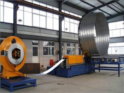 Galvanized Steel Spiral Corrugated Pipe Machines